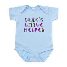 Unique Daddy's little helper Infant Bodysuit