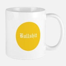 BS Button Mug