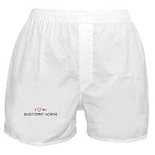 I Love Budyonny Horse Boxer Shorts