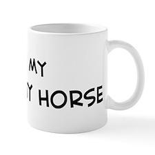 I Love Budyonny Horse Mug