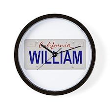 California William Wall Clock