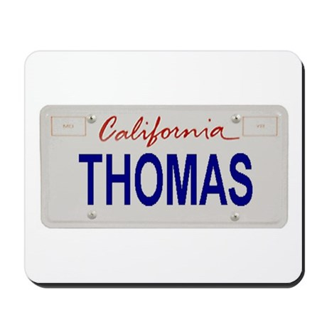 California Thomas Mousepad