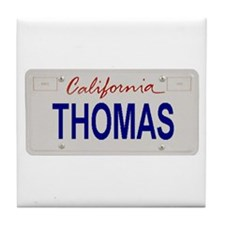 California Thomas Tile Coaster