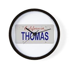 California Thomas Wall Clock
