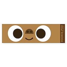 DOOKIE-POO full face Bumper Bumper Sticker