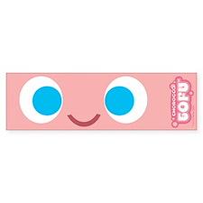 Chorocco Tofu Full face Bumper Bumper Sticker