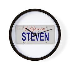California Steven Wall Clock