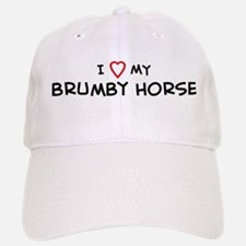 I Love Brumby Horse Baseball Baseball Cap
