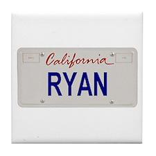 California Ryan Tile Coaster