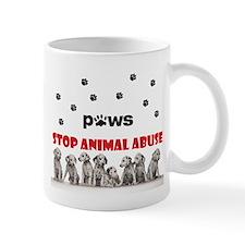 Cute Peace love paws Mug