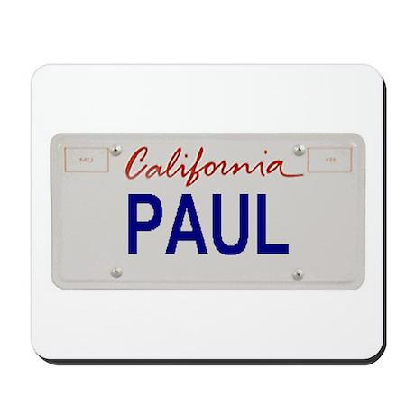 California Paul Mousepad