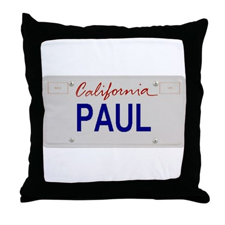 California Paul Throw Pillow