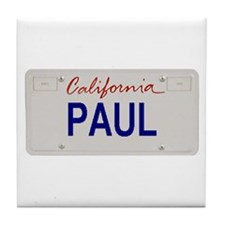California Paul Tile Coaster
