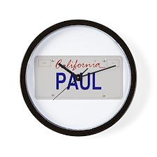California Paul Wall Clock