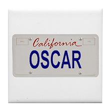 California Oscar Tile Coaster