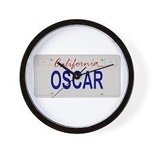 California Oscar Wall Clock