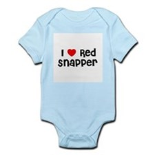 I * Red Snapper Infant Creeper