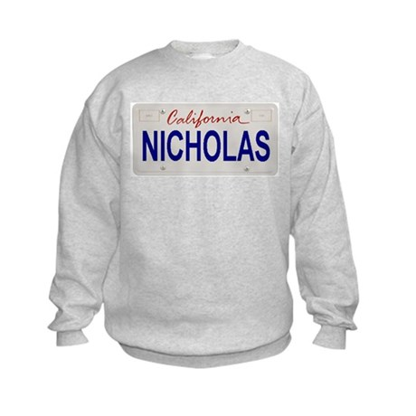 California Nicholas Kids Sweatshirt
