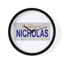 California Nicholas Wall Clock