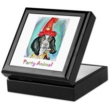 Party Animal, Fun Dog, Keepsake Box