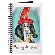 Party Animal, Fun Dog, Journal