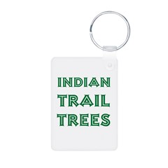 Indian Trail Trees Keychains