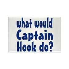 Captain Hook Rectangle Magnet