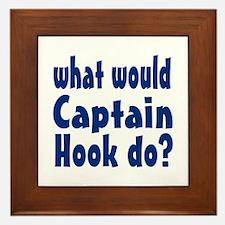 Captain Hook Framed Tile