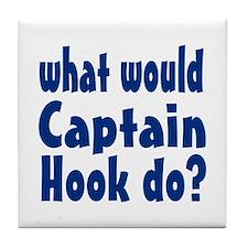 Captain Hook Tile Coaster