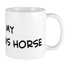 I Love Boulonnais Horse Small Mug