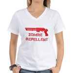 Zombie Repellent Women's V-Neck T-Shirt