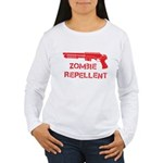 Zombie Repellent Women's Long Sleeve T-Shirt