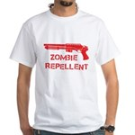 Zombie Repellent White T-Shirt