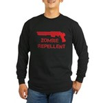 Zombie Repellent Long Sleeve Dark T-Shirt