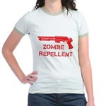 Zombie Repellent Jr. Ringer T-Shirt