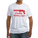 Zombie Repellent Fitted T-Shirt