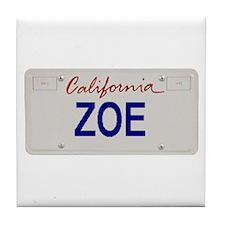 California Zoe Tile Coaster
