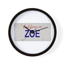 California Zoe Wall Clock