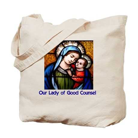 OLGC and St Francis Prayer Tote Bag