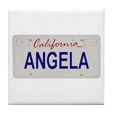 California Angela Tile Coaster