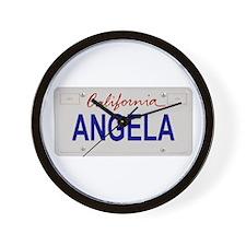 California Angela Wall Clock