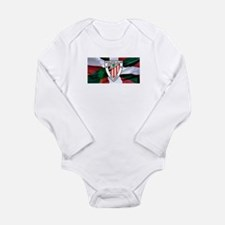 Unique Futbol Long Sleeve Infant Bodysuit