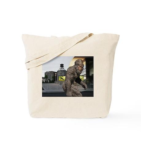 URBAN YETI SIGHTING, Tote Bag