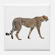 Cheetah Profile Tile Coaster