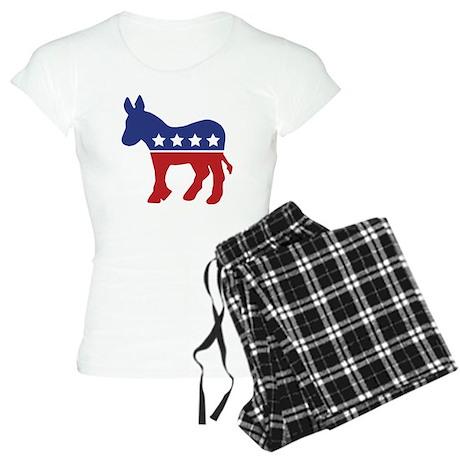 Democrat Donkey Women's Light Pajamas