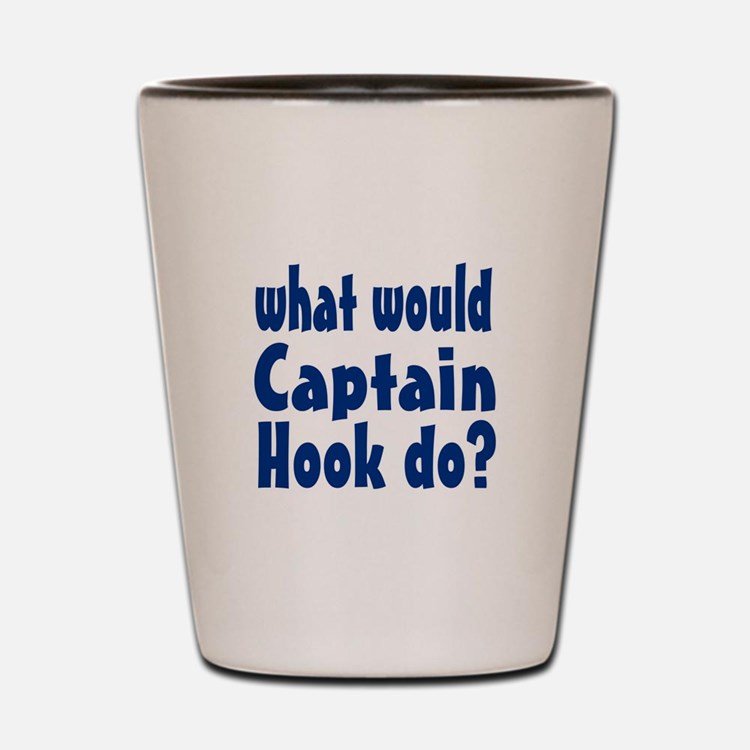 Captain Hook Shot Glass