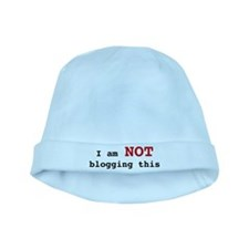 Not Blogging baby hat