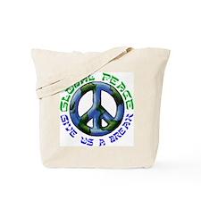 GLOBAL PEACE Tote Bag