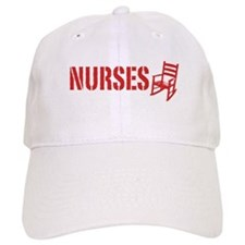 Nurses Rock Baseball Cap