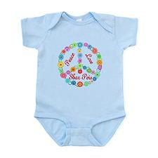 Peace Love Shar Peis Infant Bodysuit